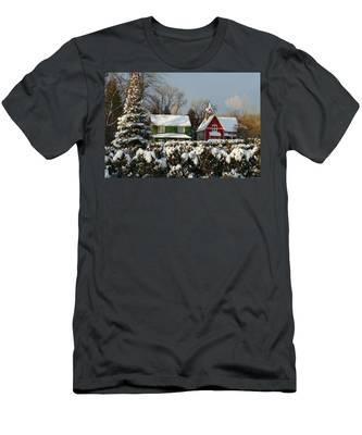 October Snow Men's T-Shirt (Athletic Fit)