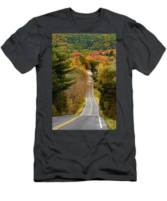 On The Road To New Paltz Men's T-Shirt (Athletic Fit)