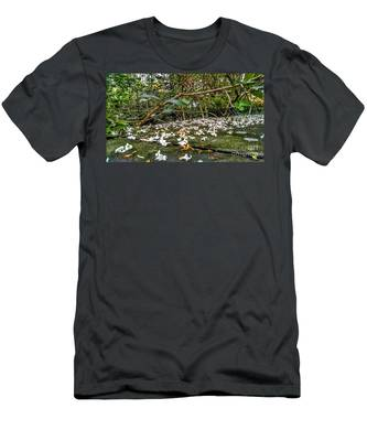 Petal And Stone Men's T-Shirt (Athletic Fit)