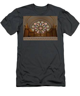Pipe Organ - Church Men's T-Shirt (Athletic Fit)
