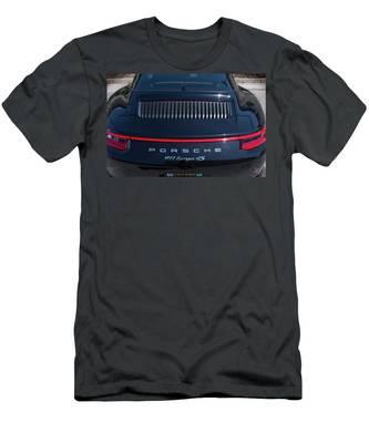 Porsche 911 Targa 4s Men's T-Shirt (Athletic Fit)