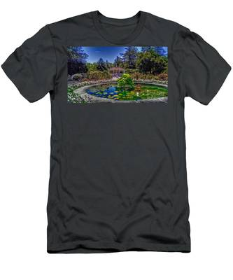 Reflecting Pool At Colonial Park Men's T-Shirt (Athletic Fit)