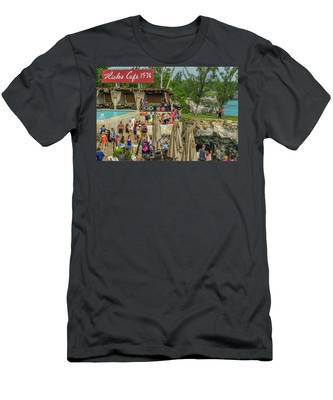 Rick's Cafe In Negril, Jamaica Men's T-Shirt (Athletic Fit)