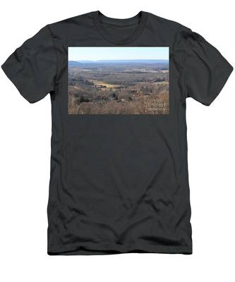 Rt 80 Scenic Ovelook Allamuchy 1 Men's T-Shirt (Athletic Fit)