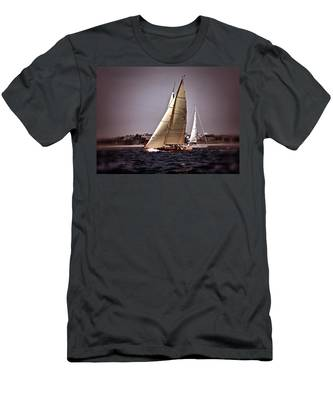 Sailing To Nantucket 005 Men's T-Shirt (Athletic Fit)