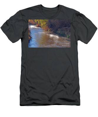 Santa Cruz River - Arizona Men's T-Shirt (Athletic Fit)