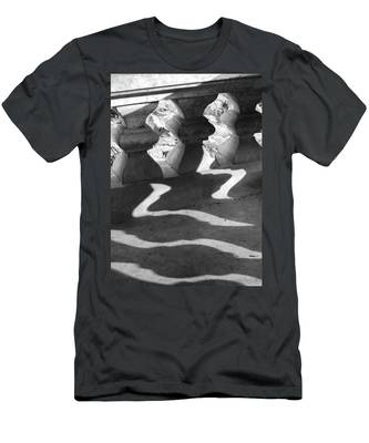 Shadow Of Railing Men's T-Shirt (Athletic Fit)