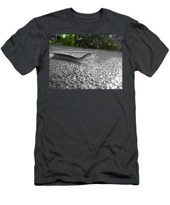 Snake In The Sun Men's T-Shirt (Athletic Fit)