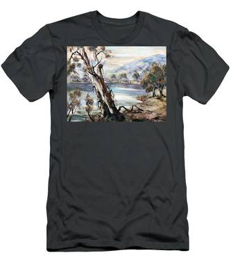 Snowy River Men's T-Shirt (Athletic Fit)