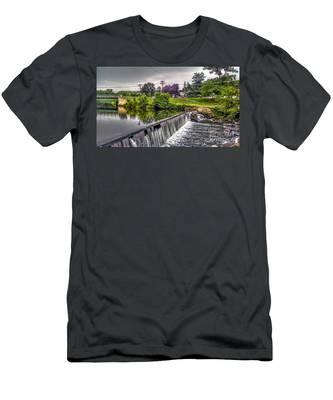 Spillway At Grace Lord Park, Boonton Nj Men's T-Shirt (Athletic Fit)