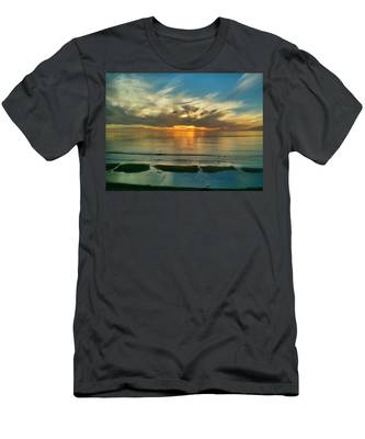 Sunset At Carlsbad Men's T-Shirt (Athletic Fit)