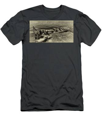The Classic 1958 Chris Craft Men's T-Shirt (Athletic Fit)
