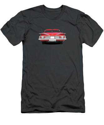 1966 Green Pontiac Tempest a Custom Hot Rod Garage T-Shirt 66 Muscle Car Tees
