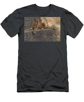The Jaguar King Men's T-Shirt (Athletic Fit)