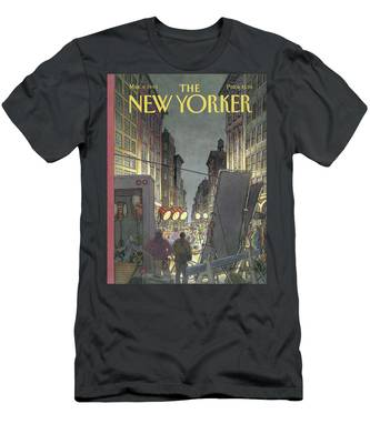 New Yorker March 8th, 1993 Men's T-Shirt (Athletic Fit)