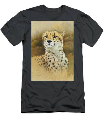 The Prince - Cheetah Men's T-Shirt (Athletic Fit)