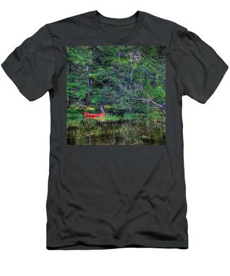 The Red Canoe Men's T-Shirt (Athletic Fit)