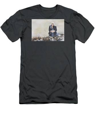 The Traveler Men's T-Shirt (Athletic Fit)