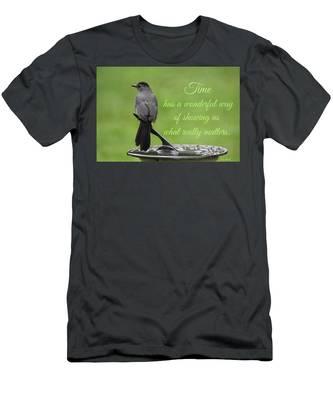 Time Men's T-Shirt (Athletic Fit)