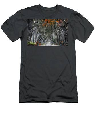 Trees Embracing Men's T-Shirt (Athletic Fit)