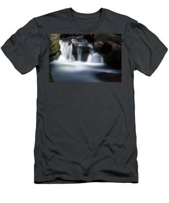 Water Stair - Long Exposure Version Men's T-Shirt (Athletic Fit)