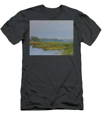 Woodland Lake Men's T-Shirt (Athletic Fit)
