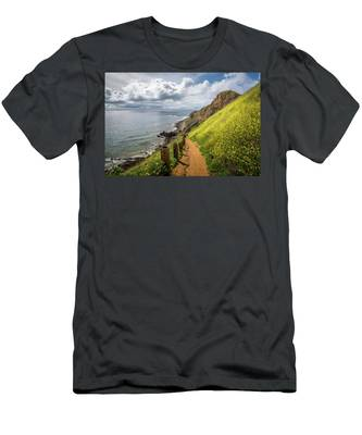 Men's T-Shirt (Athletic Fit) featuring the photograph Pelican Cove Super Bloom by Andy Konieczny