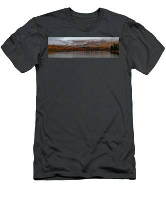 Men's T-Shirt (Athletic Fit) featuring the photograph The Basin In Maine by Jeff Folger