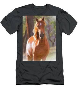 A Horse Men's T-Shirt (Athletic Fit)