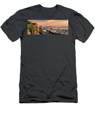 A Nice Evening In The Park - Panorama Men's T-Shirt (Athletic Fit)