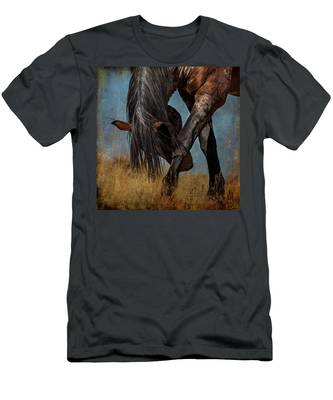 Angles Of The Horse Men's T-Shirt (Athletic Fit)