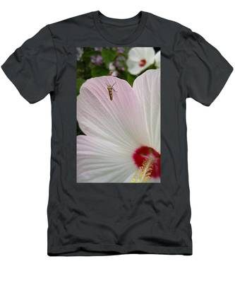 Men's T-Shirt (Athletic Fit) featuring the photograph Atteva Aurea 1 by Carl Young