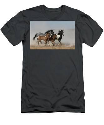 Beautiful Dust Dancers Men's T-Shirt (Athletic Fit)