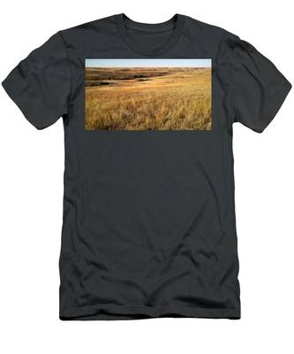 Men's T-Shirt (Athletic Fit) featuring the photograph Beauty On The High Plains by Carl Young