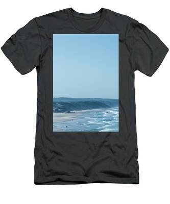 Men's T-Shirt (Athletic Fit) featuring the photograph Blue Paradise II by Anne Leven