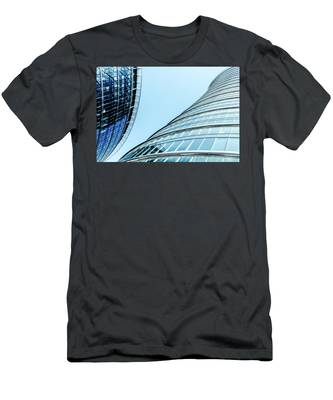Men's T-Shirt (Athletic Fit) featuring the photograph City Life V by Anne Leven