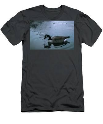 Cold Men's T-Shirt (Athletic Fit)