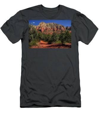 Colorful Mormon Canyon Men's T-Shirt (Athletic Fit) by Andy Konieczny
