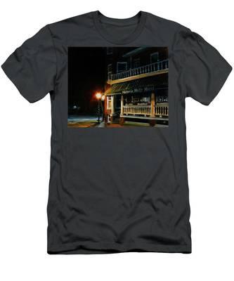 Corner Light Men's T-Shirt (Athletic Fit)
