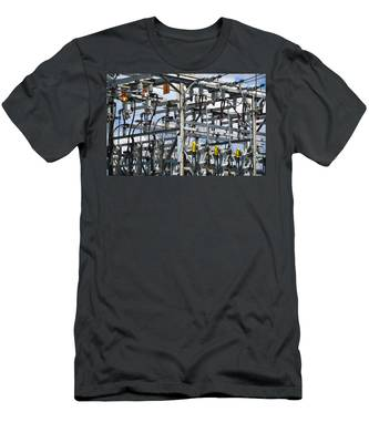Men's T-Shirt (Athletic Fit) featuring the photograph Distribution by Carl Young