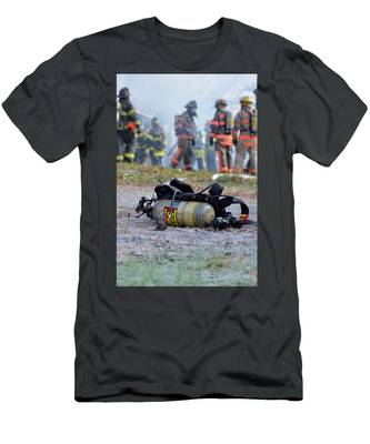 Men's T-Shirt (Athletic Fit) featuring the photograph Empty by Carl Young