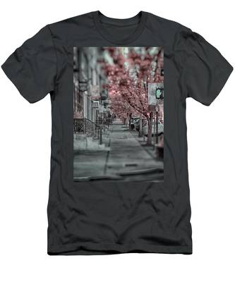 Empty Sidewalk Men's T-Shirt (Athletic Fit)