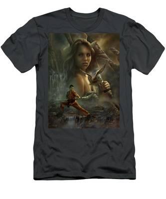 Falcons Men's T-Shirt (Athletic Fit)