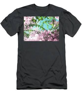 Floral Beauty Men's T-Shirt (Athletic Fit) by Anne Leven