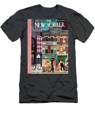 New Yorker June 1, 1946 Men's T-Shirt (Athletic Fit)