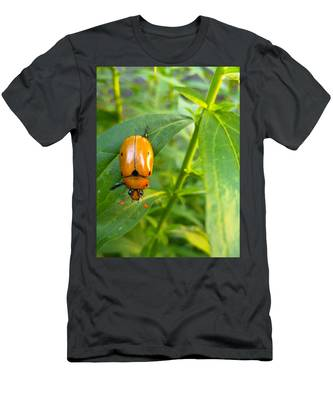 Men's T-Shirt (Athletic Fit) featuring the photograph June Bug by Carl Young