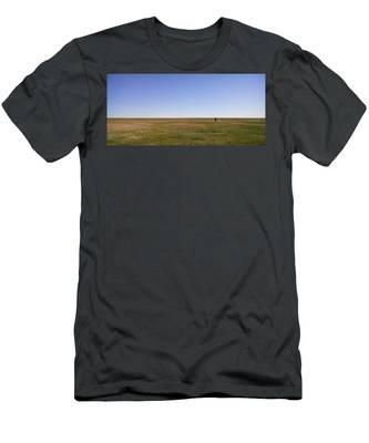 Just Walk To The Horizon Men's T-Shirt (Athletic Fit) by Carl Young