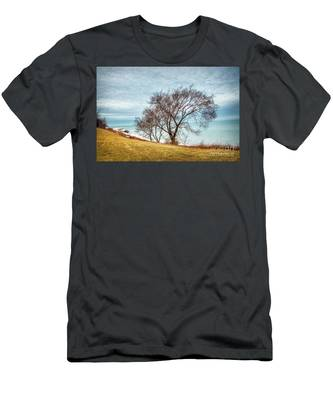 Lakeshore Lonely Tree Men's T-Shirt (Athletic Fit)