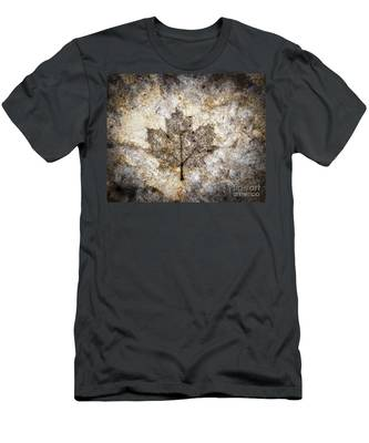 Leaf Imprint Men's T-Shirt (Athletic Fit)