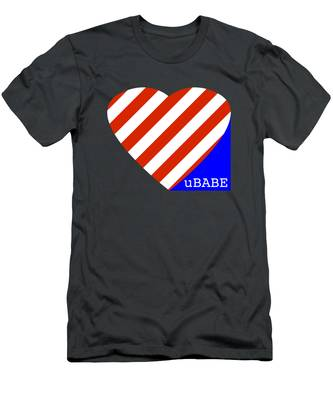 Love Ubabe America Men's T-Shirt (Athletic Fit)